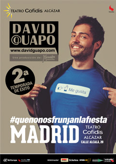 #quenonosfrunjanlafiesta – David Guapo
