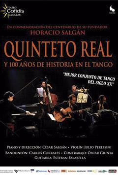 Quinteto Real y 100 años de historia en el tango