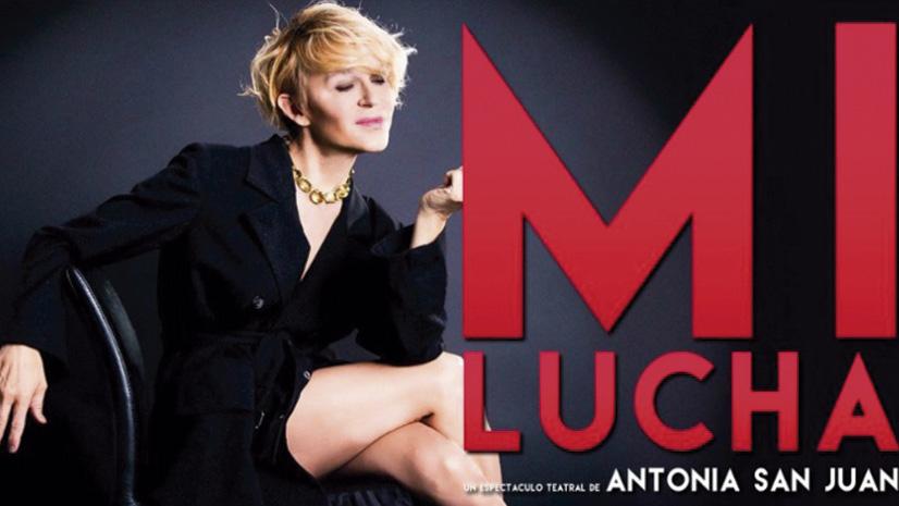 """""""Mi lucha"""" de Antonia San Juan, en el Teatro Nuevo Apolo"""