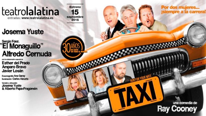 Taxi, locura de enredos por una carrera de amor