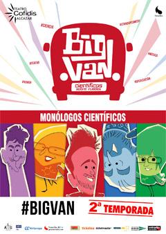 Concurso 'Big Van Monólogos Científicos'