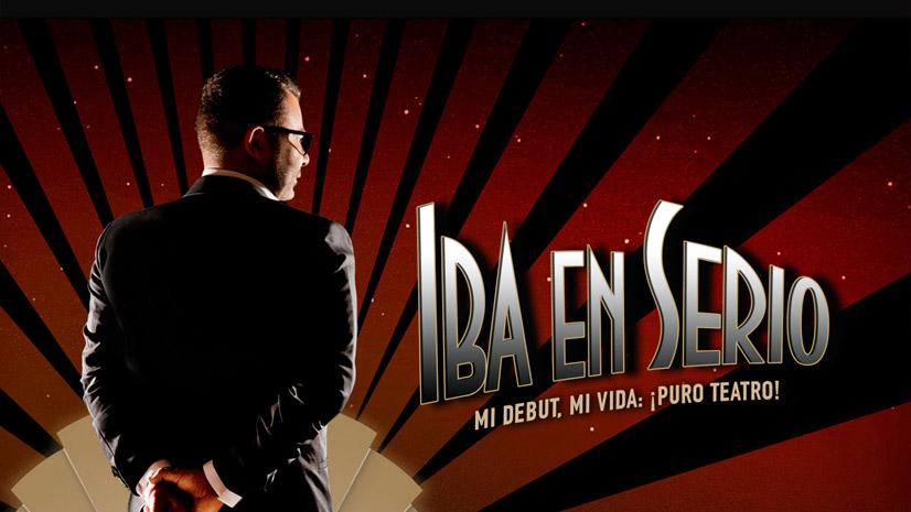 'Iba en serio', con Jorge Javier Vázquez, en el Teatro Castelar de Elda