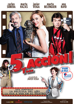 '5 y.. Acción', comedia actual con algo de televisión y cine