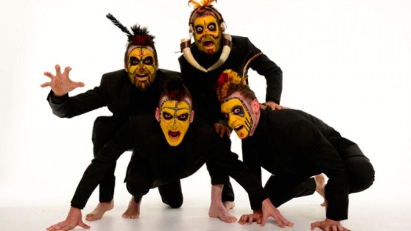 El ingenio y la irreverencia de Yllana  junto al talento musical de 'The Primital Brothers'