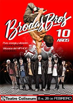 'Brodas Bros', la evolución del Hip Hop