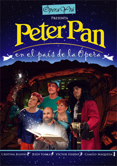 Peter Pan en el país de la ópera