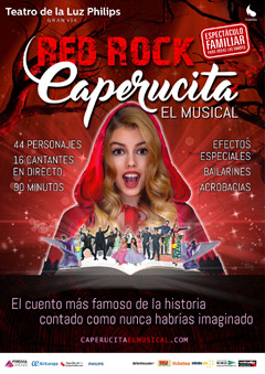 Red rock Caperucita – El musical