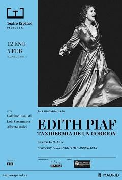 Edith Piaf – Taxidermia de un gorrión