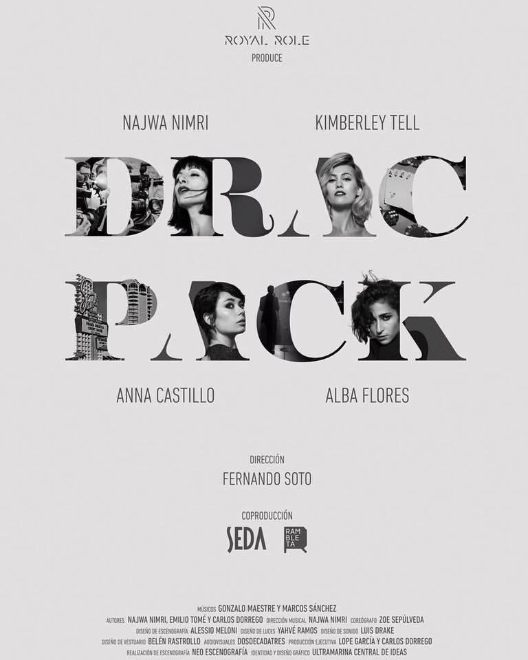 'Drac Pack', el viaje musical de Nawja Nimri