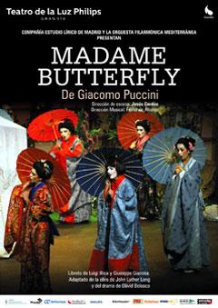 Madame Butterfly de Giacomo Puccini – Ópera
