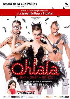 'Ohlala', Circo-Cabaret simplemente espectacular