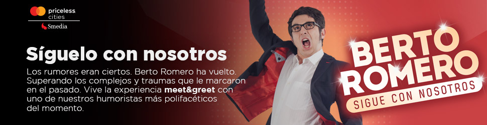 Mastercard Priceless Berto Romero – 970×250