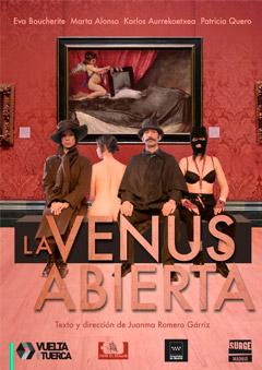 'La Venus abierta', apasionante y destructiva