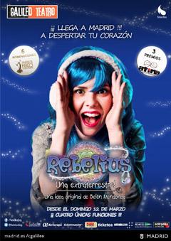 Rebelius – Una extraterrestre!