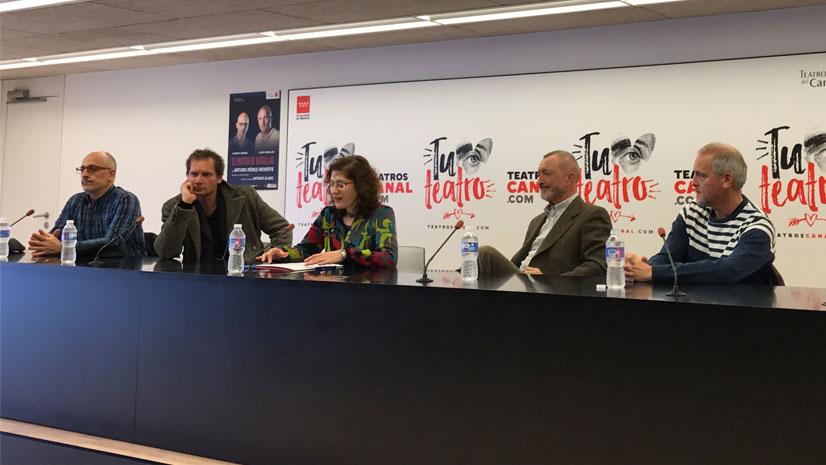 'El pintor de batallas' de Arturo Pérez-Reverte se representará en los Teatros del Canal hasta el 16 de abril