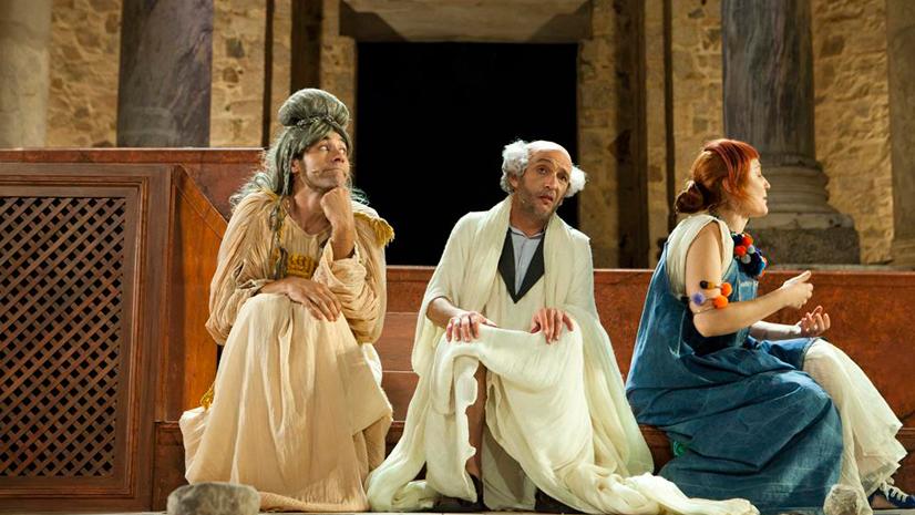 'Los Pelópidas', carcajadas al estilo griego