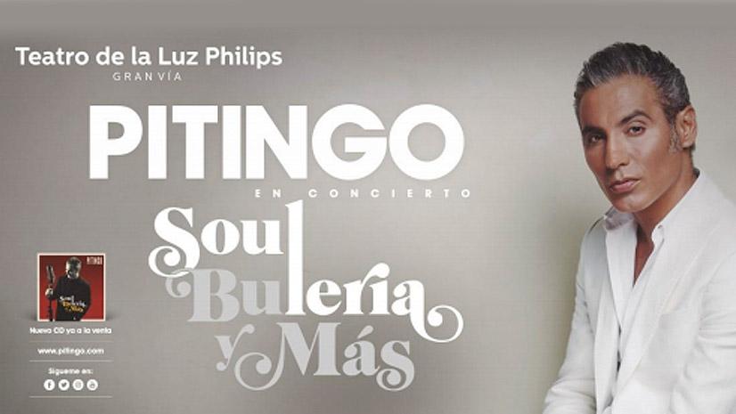 Pitingo vuelve al Teatro de la Luz Philips Gran Vía