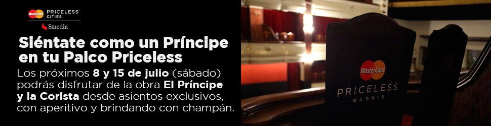 Mastercard Priceless El principe y la corista – 970×250