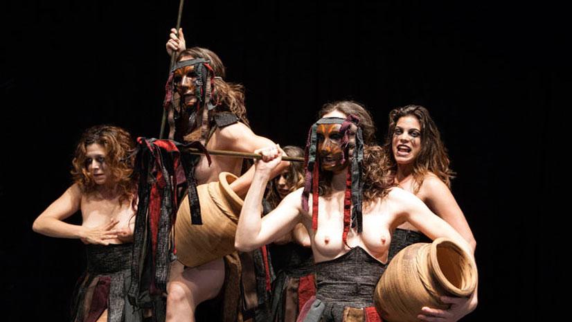 'Las bacantes. El grito de la libertad' aterriza esta semana en el Teatro Bellas Artes de Madrid