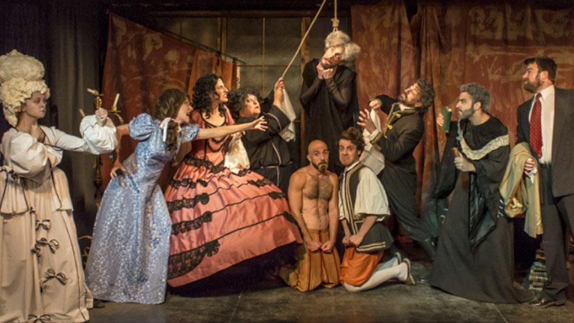 'El Avaro de Molière' esconde su dinero en el Teatro Karpas