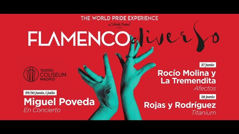 Flamenco Diverso, primera edición, en el Teatro Coliseum y Teatros Luchana