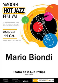 Mario Biondi – Smooth Hot Jazz Festival