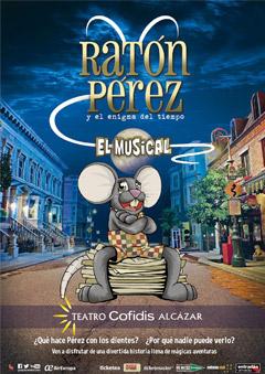 Ratón Pérez y el enigma del tiempo – El Musical