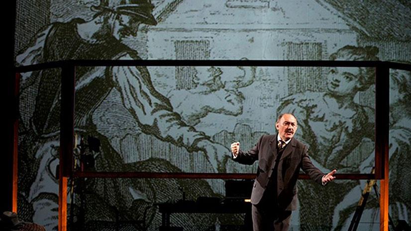 'La ruta de don Quijote' con Arturo Querejeta como Azorín
