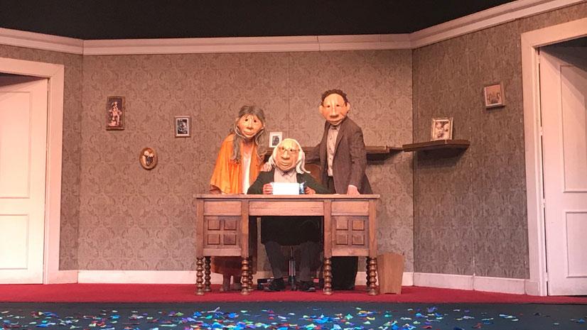 Kulunka Teatro llega a la Sala Guirau del Fernán Gómez con André y Dorine y el estreno de Solitudes