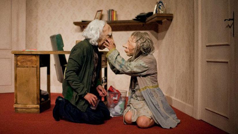 'André y Dorine', silencios de profunda reflexión