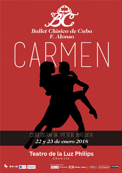 Carmen – Ballet Clásico de Cuba F. Alonso