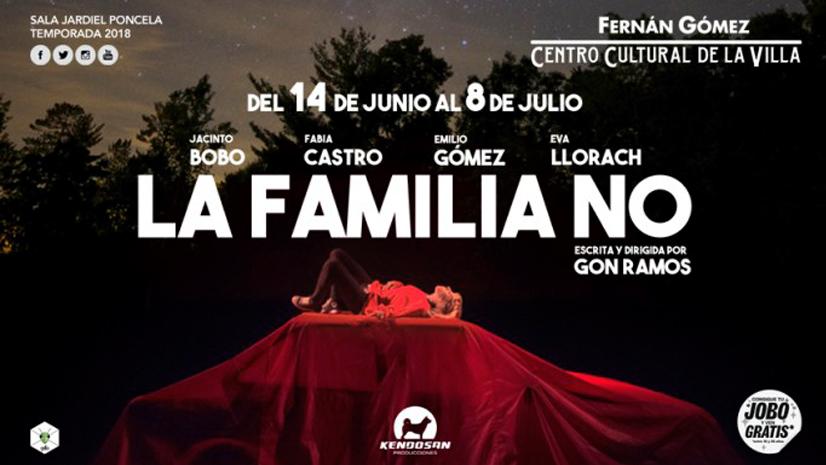 Gon Ramos llega al Teatro Fernán Gómez para presentar 'La familia No'
