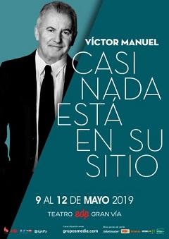Víctor Manuel – Casi nada está en su sitio