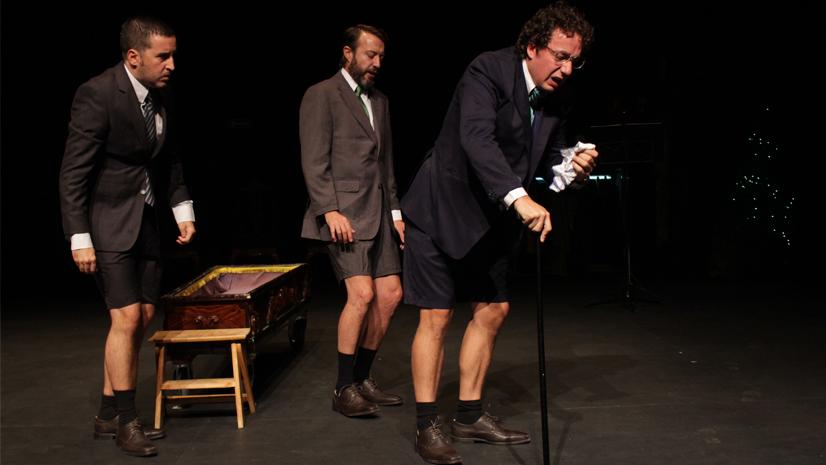 'Algún día todo esto será tuyo', una comedia burlesca y mordaz sobre Ramón Areces