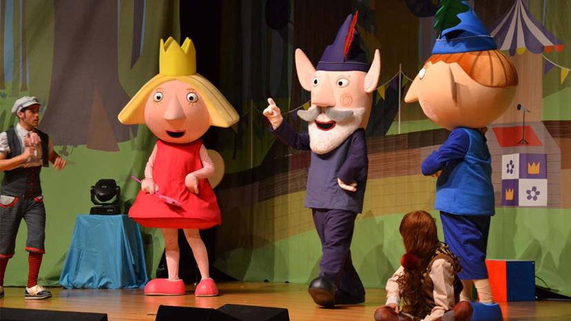 Concurso 'El pequeño reino de Ben & Holly'