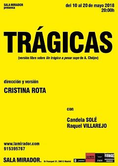 'Trágicas', el Chéjov feminista de Cristina Rota