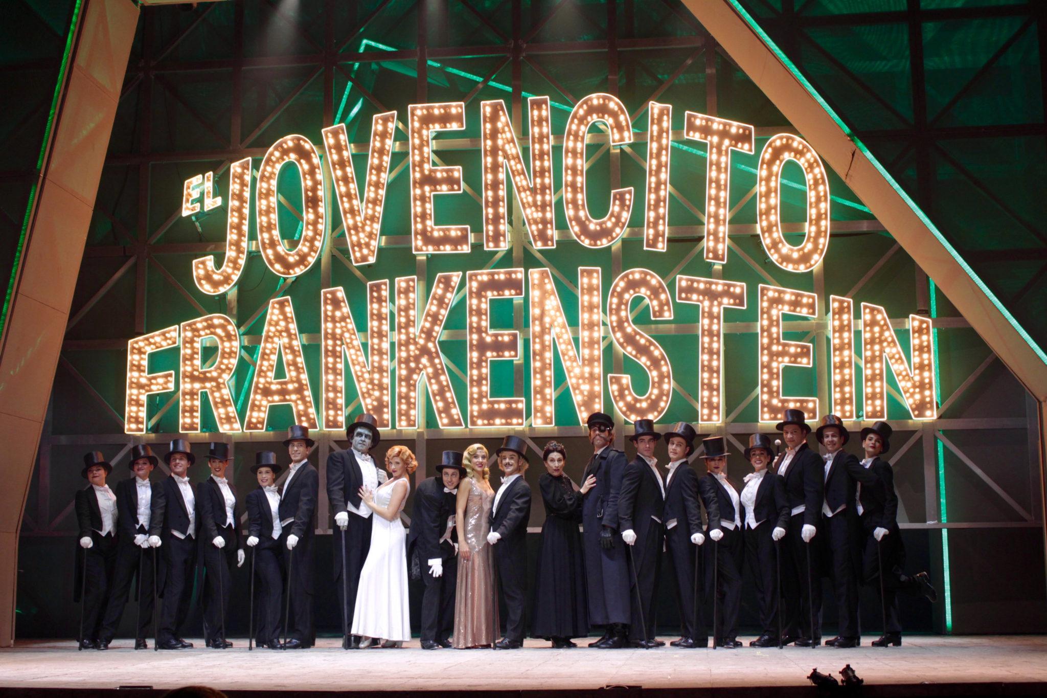 'El Jovencito Frankenstein' ya anda por Madrid