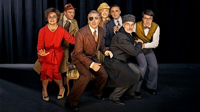 'Nekrassov', excepcional montaje de la única comedia de Sartre