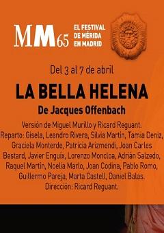 Festival de Mérida en Madrid – La bella Helena