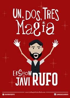 Un, dos, tres…¡Magia! con Javi Rufo