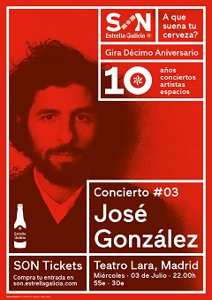 José González en concierto