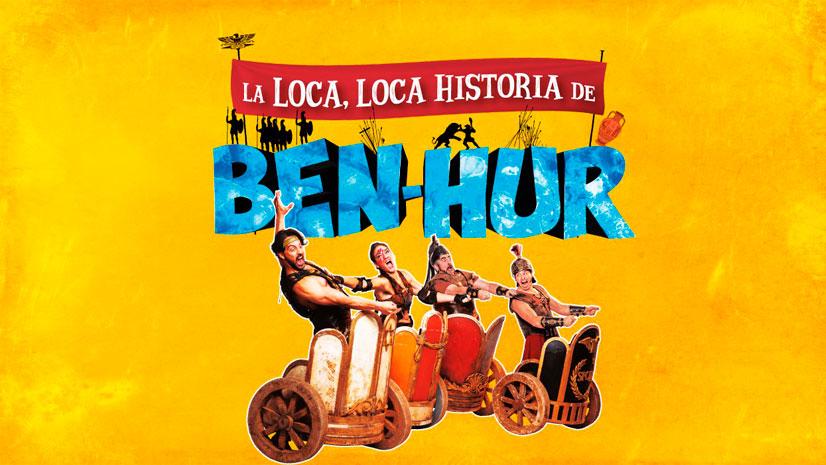 Concurso 'La loca, loca historia de Ben-Hur'