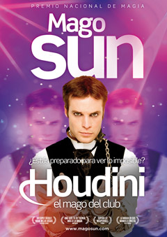 Houdini, el mago del club del Mago Sun