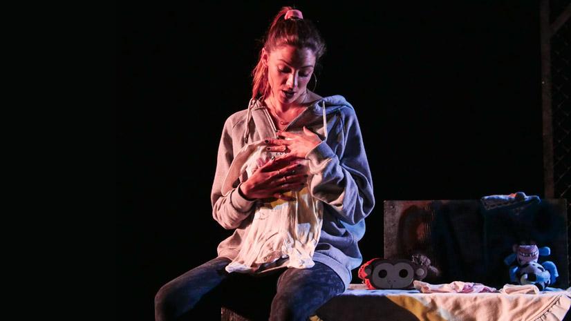 María Hervás grandiosa en 'Iphigenia en Vallecas'