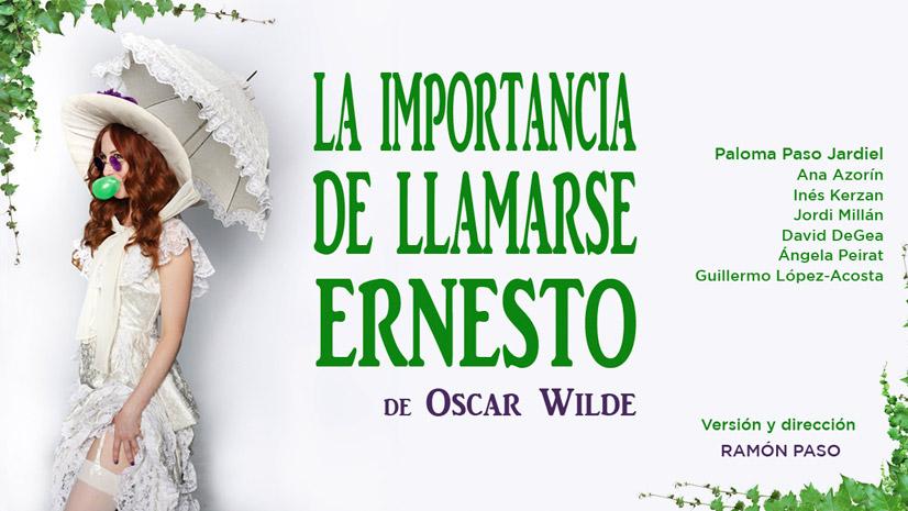 Concurso 'La importancia de llamarse Ernesto'
