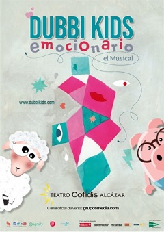Dubbi Kids – Emocionario, el musical