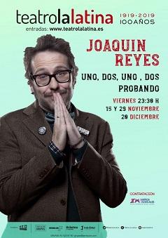 ¡Uno, dos. Uno, dos. Probando! -Joaquín Reyes