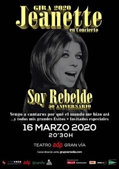 Jeanette en concierto – SOY REBELDE
