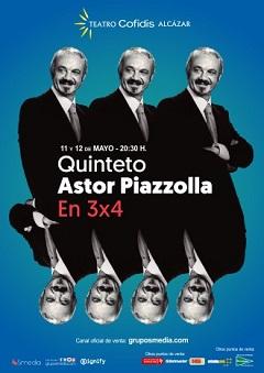 Quinteto Astor Piazzolla. En 3×4